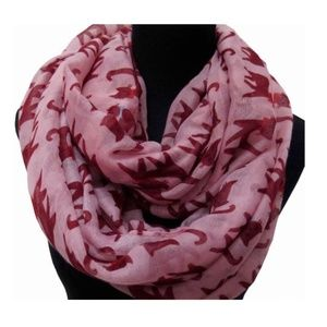 Double Pink Cat Lady for Infinity Scarf